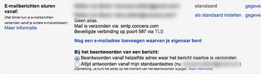 nieuw account gmail